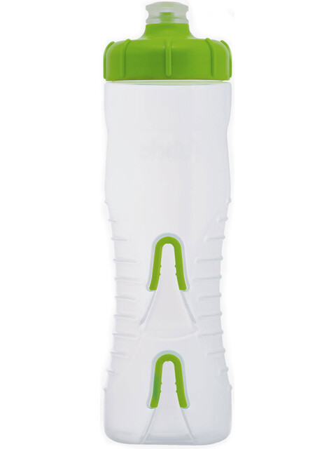 Fabric Cageless Bottle 750ml clear/green